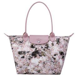 Sac Shopping S Le Pliage Bouquet en Toile - Longchamp