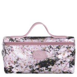 Trousse Le Pliage Bouquet en Toile - Longchamp