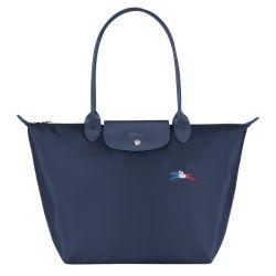 Sac Shopping L Le Pliage Très Paris en Toile - Longchamp