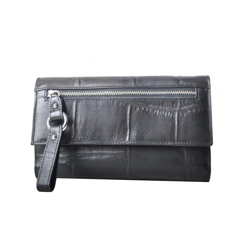 fdb260a30287 Ce compagnon porte-chéquier Arthur   Aston en cuir de vachette se glissera  facilement dans votre sac à main ou dans votre poche !