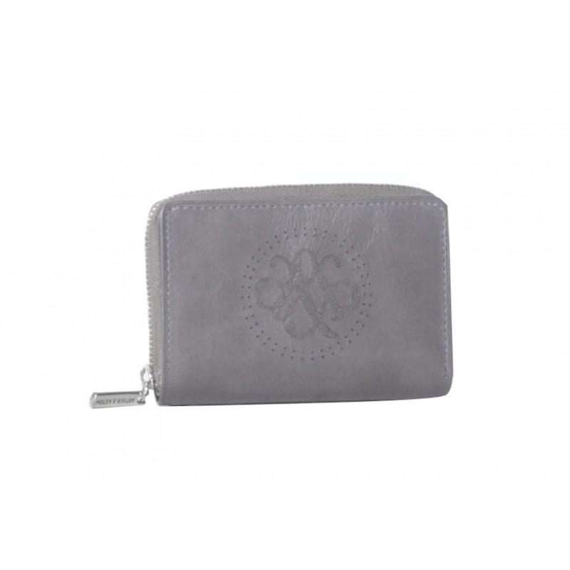 0861c628f33 Le cuir vachette brillant de ce porte-monnaie et cartes Arthur   Aston vous  procurera une grande satisfaction au touche à chaque utilisation.