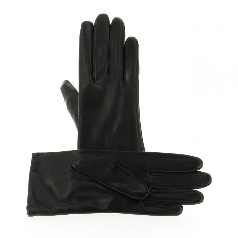 169d3a6bcf4 Gants Femme Cuir Agneau Noir - Isotoner