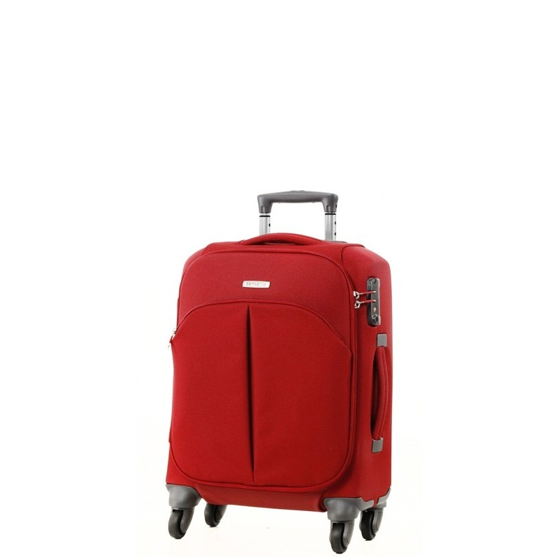 valise spinner 55cm rouge cordoba duo samsonite. Black Bedroom Furniture Sets. Home Design Ideas