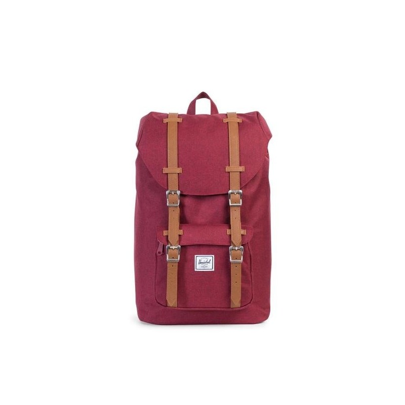 Sac à dos Herschel Little America Winetasting Crosshatch/Tan rouge vXwvDGdn2