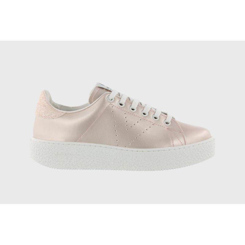 Baskets Sneakers Compensées Vernis - Victoria