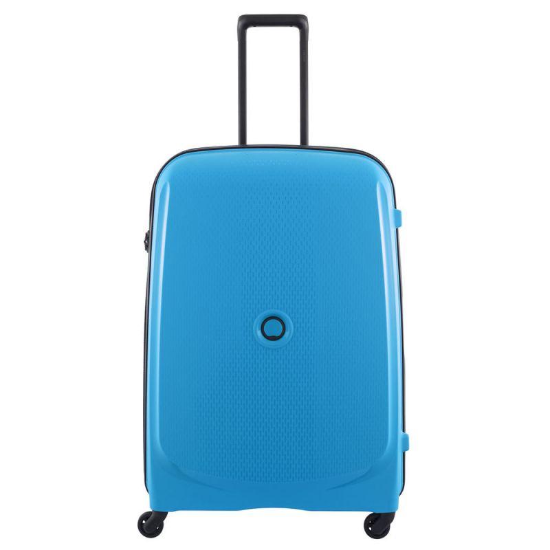 Valise cabine rigide Delsey Belmont 55 cm Bleu métallique 8B2JU0