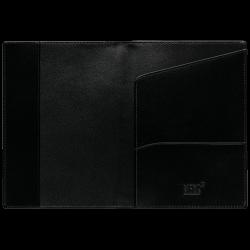 Porte-passeport Cuir Noir -...