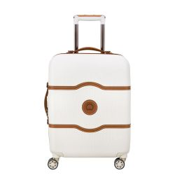 Valise Cabine 4 Roues 55cm Slim Châtelet Air Blanche - Delsey
