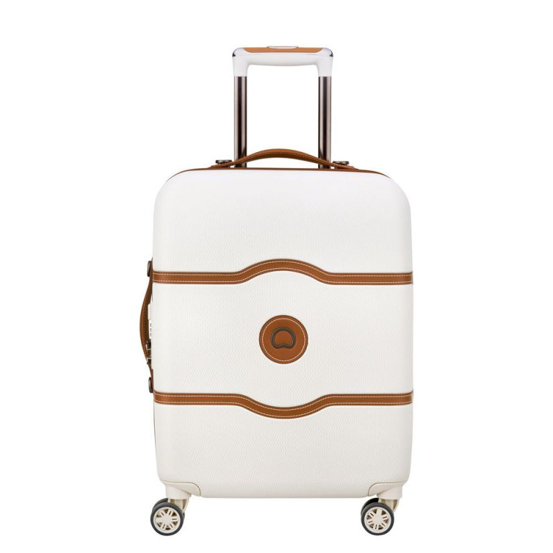 18b7e2148f Valise Cabine 4 Roues 55cm Slim Châtelet Air Blanche - Delsey