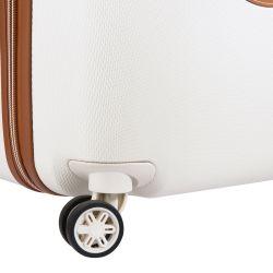 Valise Cabine 4 Roues 55cm Slim Châtelet Air Blanche - Delsey