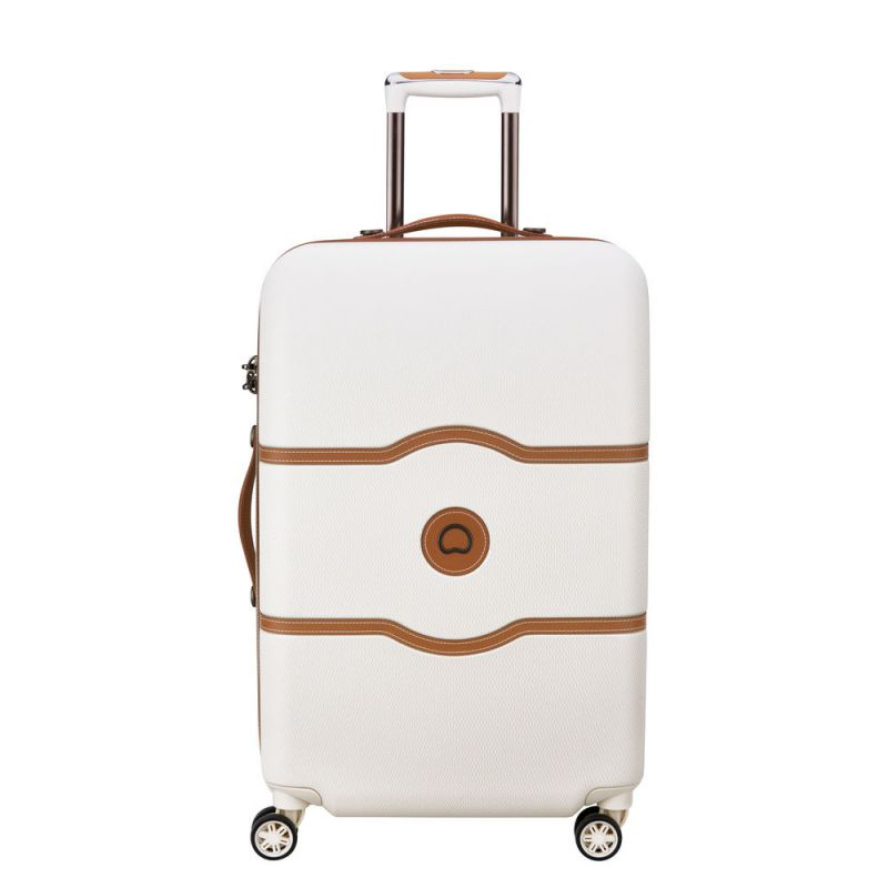 Valise 4 Roues 69cm Châtelet Hard + Blanche - Delsey