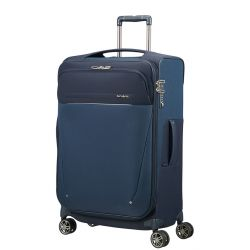 Valise Souple Spinner 71cm Extensible B-Lite Icon Dark Blue  - Samsonite
