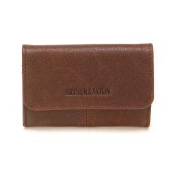 Porte Monnaie et Cartes Camille en Cuir Vachette - Arthur & Aston