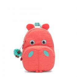 Sac à Dos Hippo Peachy Pink C en Toile - Kipling