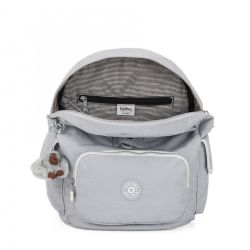 Sac à Dos City Pack S Active Grey BL en Toile - Kipling