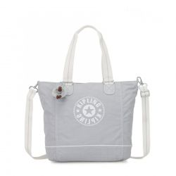 Sac Shopper C Active Grey BL en Toile - Kipling
