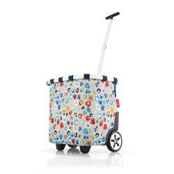 Chariot de courses Carrycruiser Millefleurs en Toile - Reisenthel