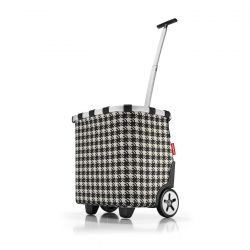 Chariot de courses Carrycruiser Fifties Black en Toile - Reisenthel