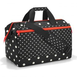 Sac de Voyage Allrounder L Pocket Mixed Dots en Toile - Reisenthel