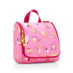 Trousse de Toilette Toiletbag Kids ABC Friends Pink en Toile - Reisenthel