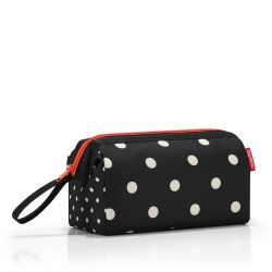 Trousse de Toilette TravelCosmetic Mixed Dots en Toile - Reisenthel