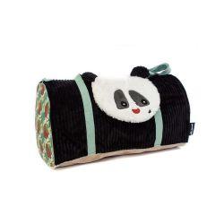 Sac Weekend Rototos le Panda en Toile - Les Déglingos