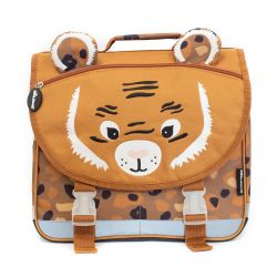 Cartable 35 cm Speculos le Tigre en Toile - Les Déglingos