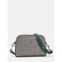 Sac Bandoulière TH Essence en Toile Gris - Tommy Hilfiger