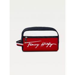 Trousse de Toilette TH Signature en Synthétique - Tommy Hilfiger