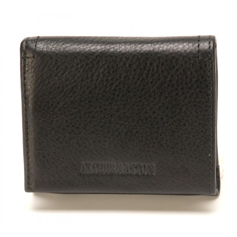 Porte-cartes et monnaie Julio en cuir