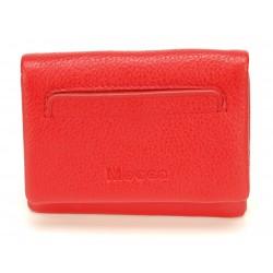 Porte monnaie et cartes cuir Mocca - M57-8016