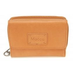 Porte-monnaie et cartes cuir Mocca - M56-160