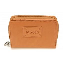 Porte-monnaie et cartes cuir Mocca - M56-947