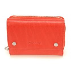 Porte monnaie et cartes cuir Mocca - M58-160