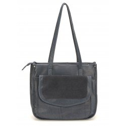Sac shopping cuir Marion - Mocca - M62-03