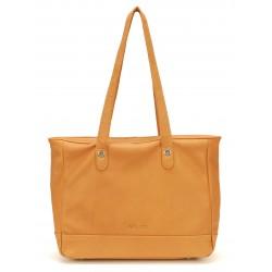 Sac shopping cuir Mocca - M63-02